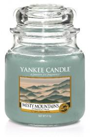 YANKEE svíčka sklo2 Misty Mountains