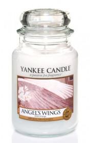 YANKEE svíčka sklo3 Angel's Wings