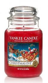 YANKEE svíčka sklo3 Christmas Eve