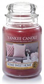 YANKEE svíčka sklo3 Home Sweet Home