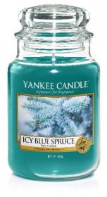 YANKEE svíčka sklo3 Icy Blue Spruce