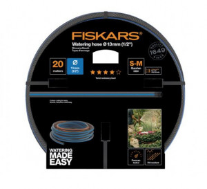 "Zahradní hadice 13 mm (1/2"") Fiskars Q4, délka 20 m"