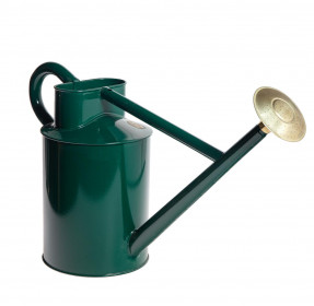 Zahradní konev s kropítkem, Haws TRADITIONAL, objem 8.8 l, tmavě zelená