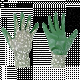 Zahradní rukavice Esschert Design, dámské, velikost M, zelené