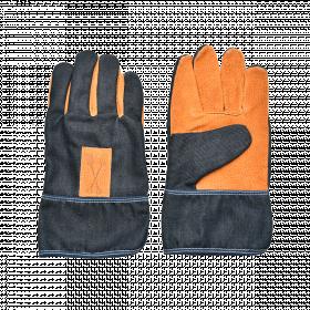 Zahradní rukavice Esschert Design DENIM, pánské, velikost UNI, tmavě modré