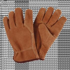Zahradní rukavice Esschert Design, pánské, kožené, velikost L, hnědé