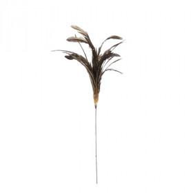 Zápich peří, délka 22cm, zlatá
