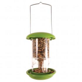 Závěsné plastové krmítko pro ptáky malé, Esschert Design, zelené