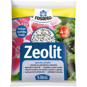Zeolit Rosteto, velikost 4 - 8 mm, balení 5 l